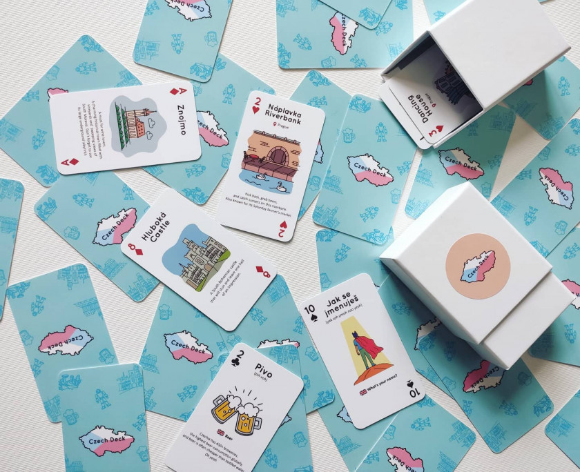The Czech Deck was developed by an expat living in Prague