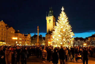 Old Town Square's Christmas tree will live on as furniture for a retirement home