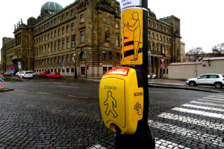 Prague tests contactless pedestrian buttons to slow the spread of COVID-19