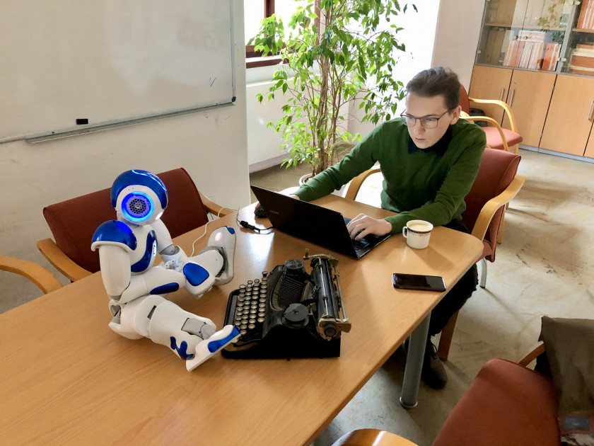 Could robots write the plays of the future? Photo: Theairtre
