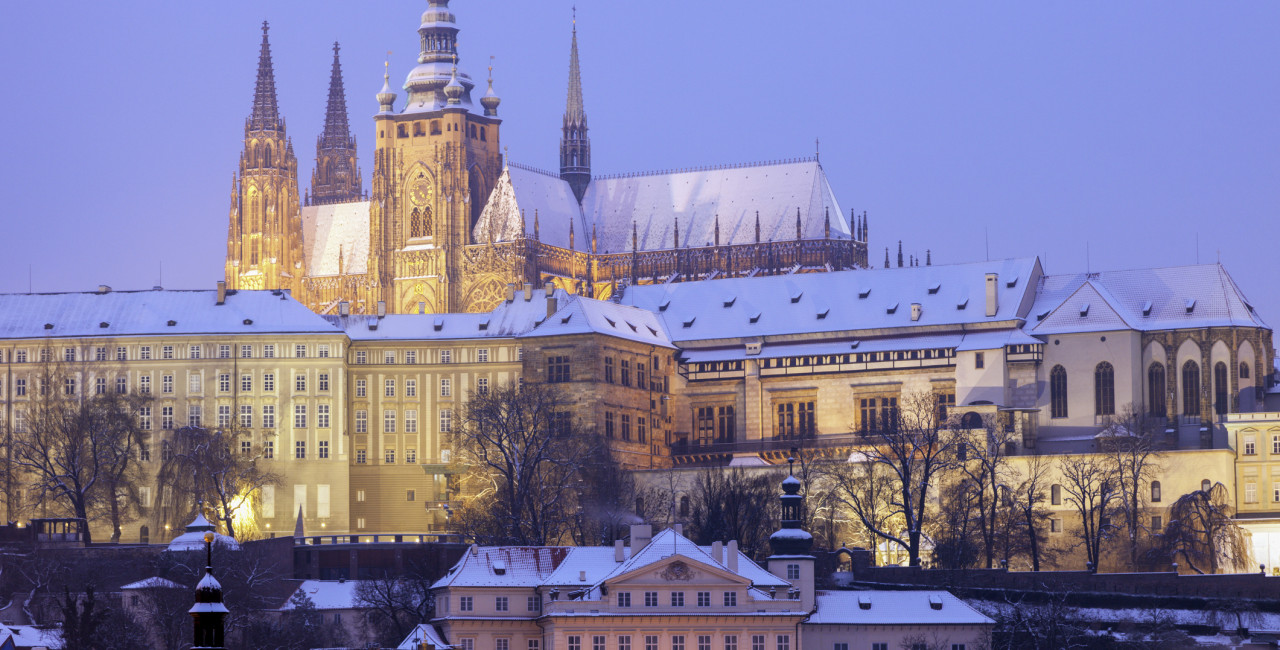 Prague Castle, seat of the Czech government, via iStock / benkrut