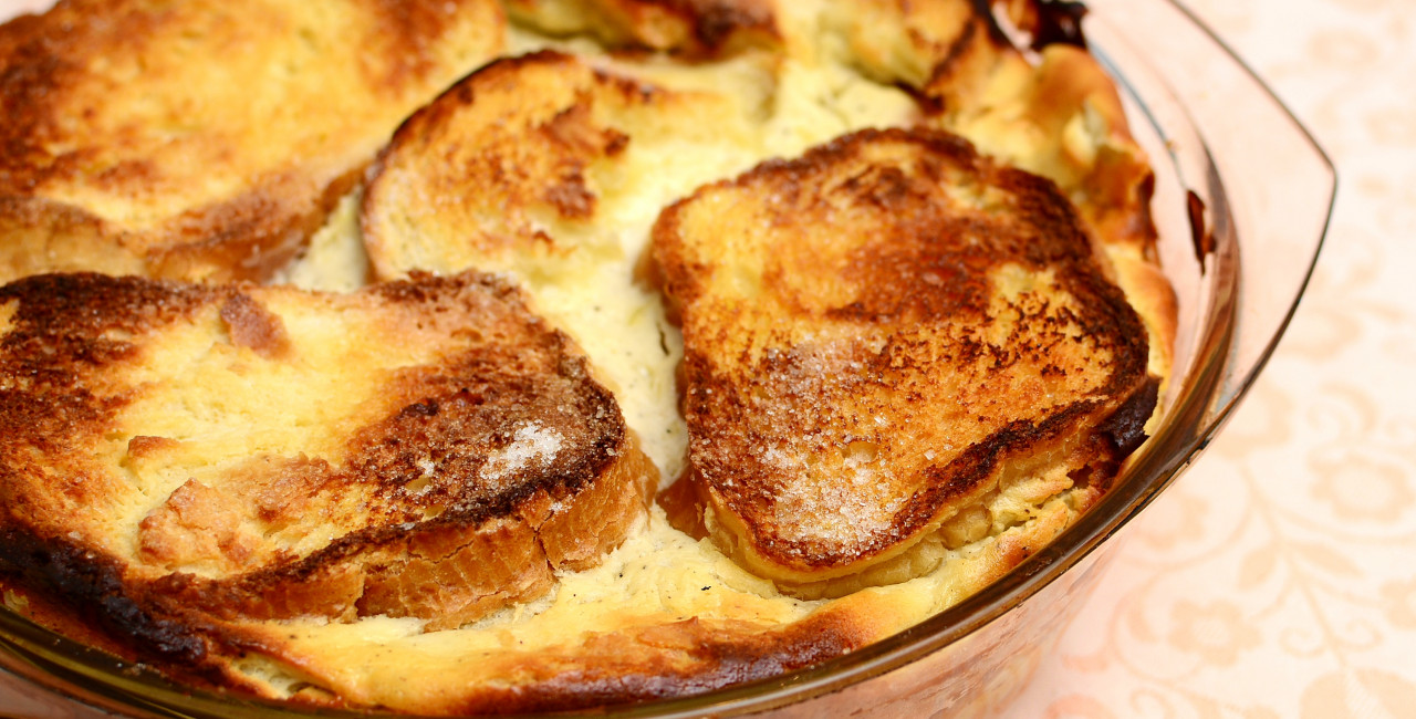 In the Czech kitchen: grandma's bread pudding recipe