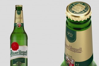 Pilsner Urquell changes iconic bottle design to be more environmentally friendly