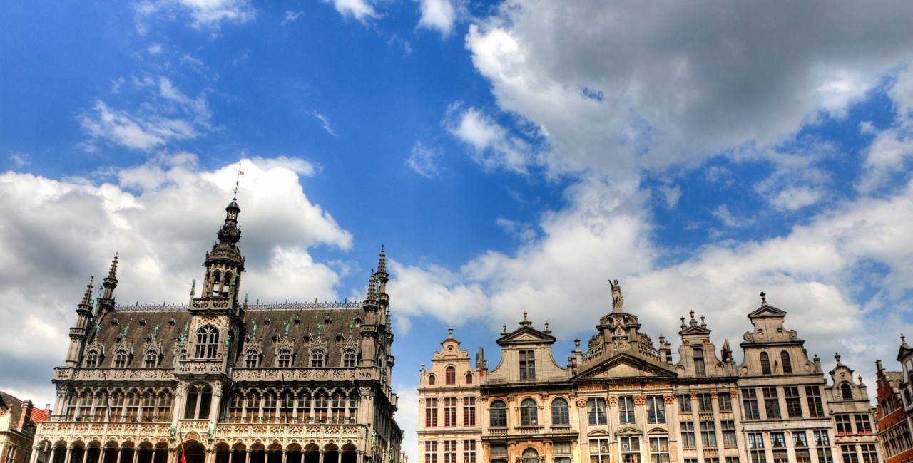 Central square in Brussels (iStock photo - AleksandarGeorgiev).