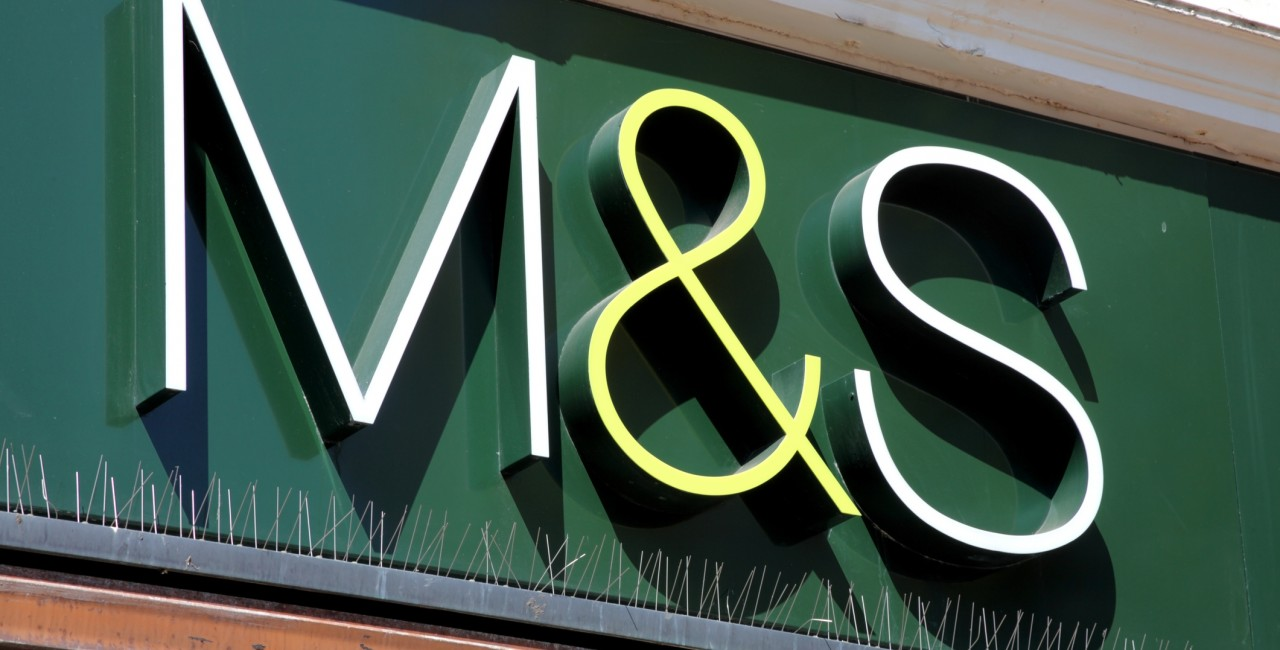 Marks & Spencer logo outside one of its stores. (Photo: iStock, TonyBaggett)
