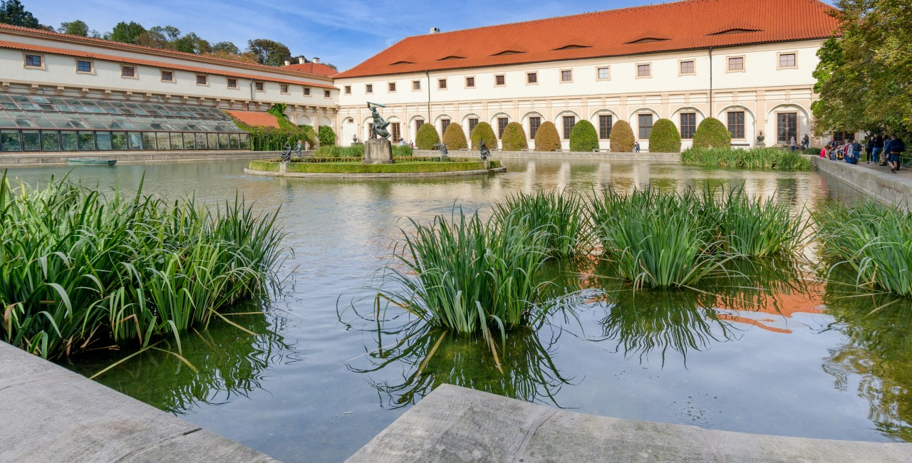 Riding school building of the Wallenstein Palace and gardens (photo iStock - piotr borkowski)