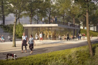 Prague's Vítkov Hill will see major renovations including new promenade and plaza with a fountain