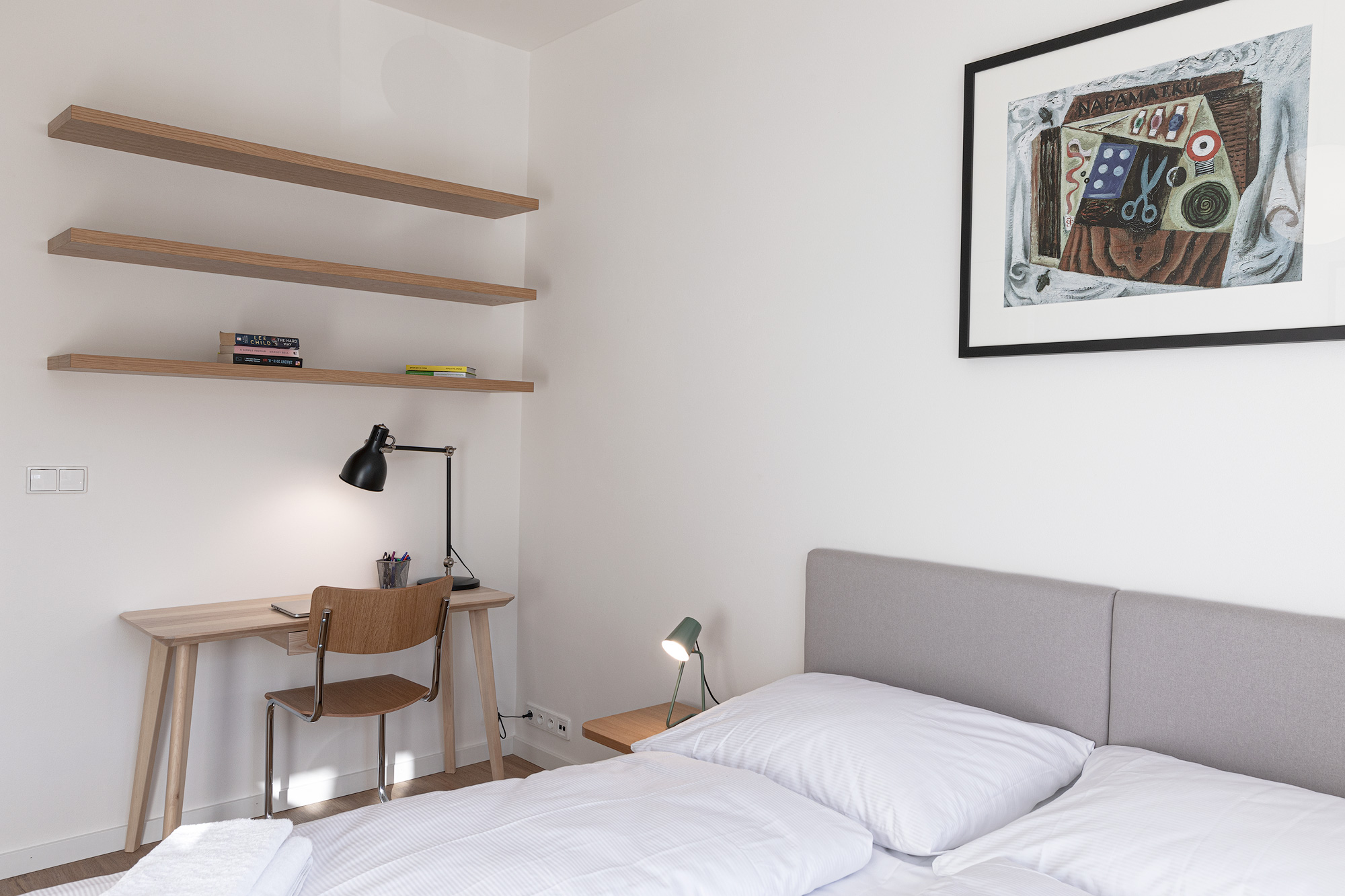 Apartment for rent, 2+kk - 1 bedroom, 37m2, in Prague
