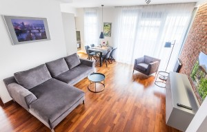 Apartment for rent, 3+kk - 2 bedrooms, 76m<sup>2</sup>