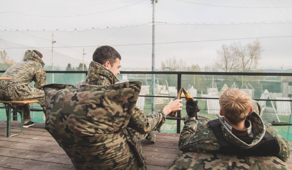 Chill zone | Paintball-Prague.cz