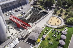 600-seat amphitheater to open under Žižkov TV Tower this summer