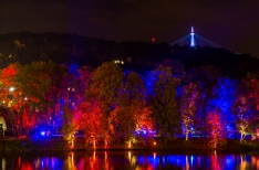 Prague's Petřín Tower getting improved technology for colored lighting