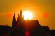 Prague has its own summer solstice 'Stonehenge' at Charles Bridge and Prague Castle