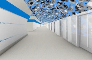 Interior designs for first two Metro D stations in Prague will include optical illusions and video art