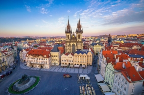 Prague is among Europe's top 10 richest regions